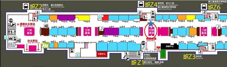 臺北市站前地下街